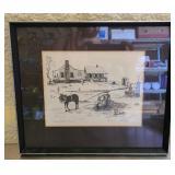 "Signed Lake ""Syrup Making Time"" print 3/500"