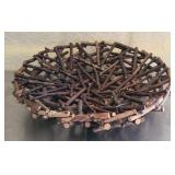 Handmade wood center piece