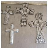 Lot of 4 author Court style crosses