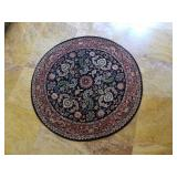 Beautiful Vintage Round Persian Rug