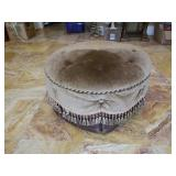 Very Nice Round Upholstered Ottoman