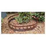 Large Iron Deer Tree or Firepit Surround