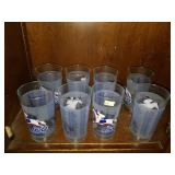 Lot of 8 Kentucky Derby 134 Glasses