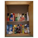 Cabinet FULL of Cleaner, Polish, Stain, Etc