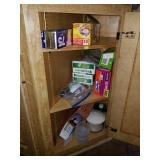 Cabinet of Ziploc bags and More