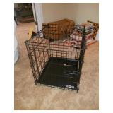 "Black Metal Collapsible ""Better Buy"" Animal Crate"