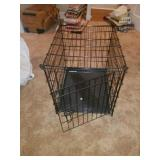 "Black Metal ""Better Buy"" Collapsible Animal Crate"