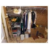 Entire Contents on Left Side Closet-Womens,etc