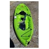 Lifetime brand Tahoma kayak with paddles