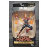 Marvel Legends series captain marvel binary form