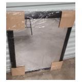 Plastic frame mirror