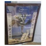 """Mainstays 24""""x36"""" poster & wall fram"""