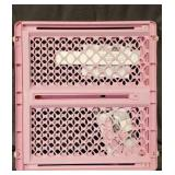 North States PINK Supergate Pet Baby Gate