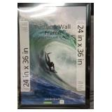 Black Mainstays Poster & Wall Frame