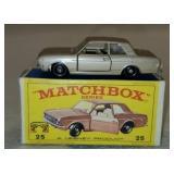 Vintage Matchbox Ford Cortina New Model 25 Car