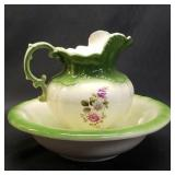 Beautiful pitcher and bowl