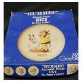 1974 Goebel Hummel plate