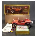 Vintage cox gas powered dune buggy
