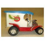 Apple peeler truck