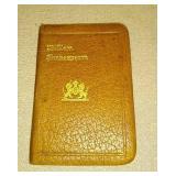William Shakespeare pocket book