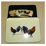 Roosters pocket knife