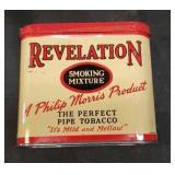 Vintage metal Revelation Tobacco can
