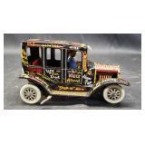 Beautiful vintage metal toy car