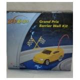 Vintage Zip Zaps Grand Prix Barrier Wall Kit