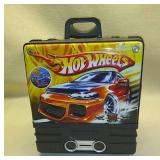 Vintage Hot wheels case and cars