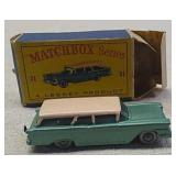 Vintage Matchbox series ford toy car