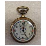 Lucien Piccard 17 Jewel Incabloc Pocket Watch
