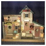 Misc. Advertisement handmade wooden birdhouse