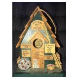 Beautiful Handmade wooden birdhouse