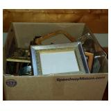 Box full of picture frame