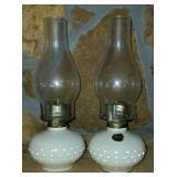 Vintage Set of Beautiful Lamp Lighting Farms Lamps