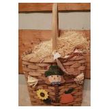 Beautiful handwoven split oak Easter basket