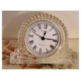 Small Beautiful Shannon Crystal Quartz Clock