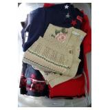 Tote Full of Womens Clothing Sweaters