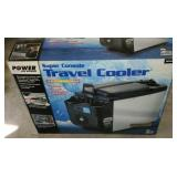 Brand New Power On Board Console Travel Cooler