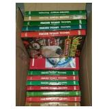 Estate lot of annual recipe books