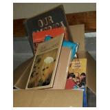 Estate box of books