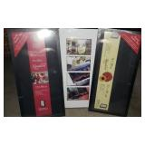 Estate lot of 2 shadow boxes and a picture frame