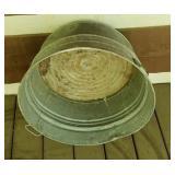 #2 metal wash bucket