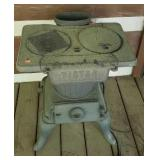 Vintage cast iron stove