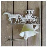 Vintage metal outdoor bell