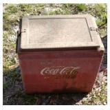 Drink coca cola cooler (metal)