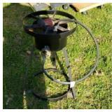 Metal propane burner