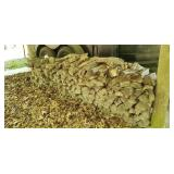 2 Lots of chopped firewood