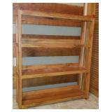Beautiful 4 tier oak wood book shelf