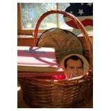 Basket of Misc Estate Items in Basket